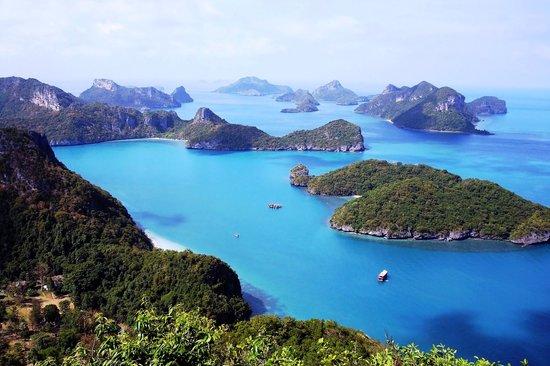 100 Degrees East Dive Team : Angthong National Marine Park