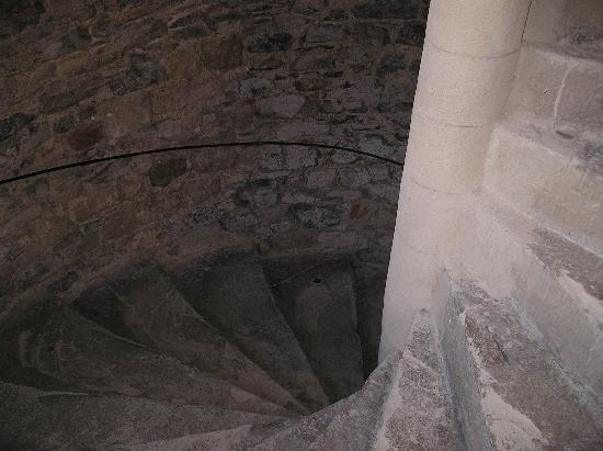 Hotel le Turenne : The spiral staircase