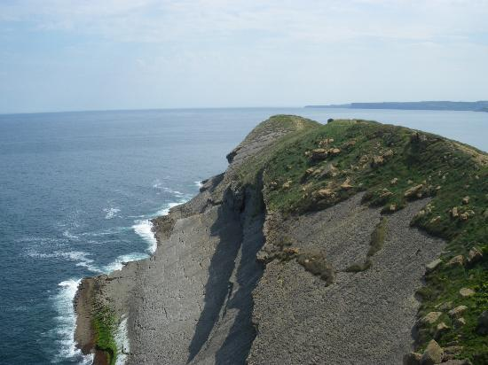 Parque de Cabo Mayor: Looking out down the peninsular