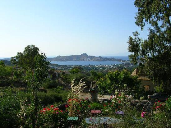 Miray Hotel: Yalikavak from the hillside
