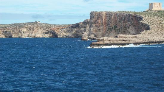 Sliema, Malta: Falaises de Comino
