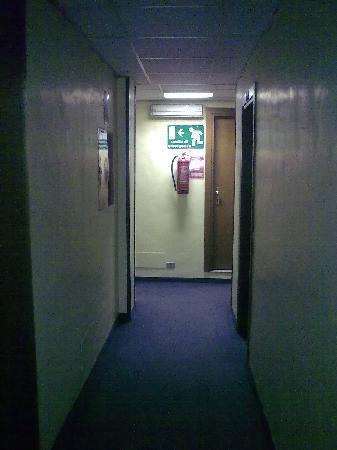 Italia Hotel: corridoio