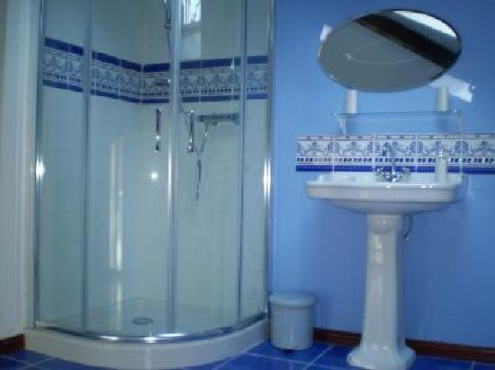 B B La Renardiere: en suite/bathroom