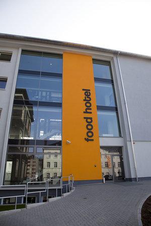 Food Hotel Neuwied: Hautpeingang