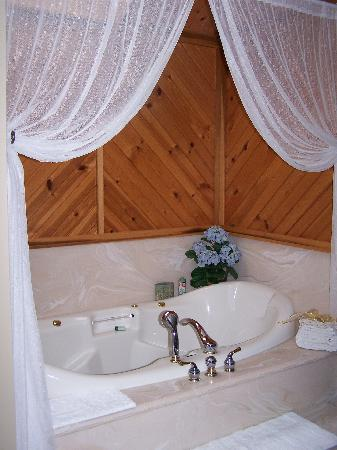 Quail's Covey Bed & Breakfast: Relax in our jaccuzzi bath