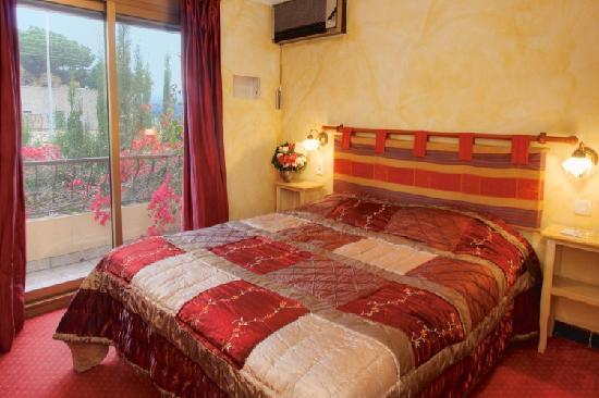 Hotel Villa Nina: Balcon et vue mer