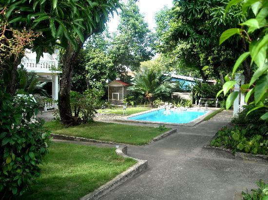 Villa Carolina : pool area