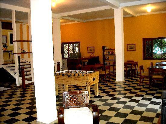 Villa Carolina: common area