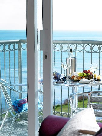 Inchydoney Island Lodge & Spa: Apartment Balcony
