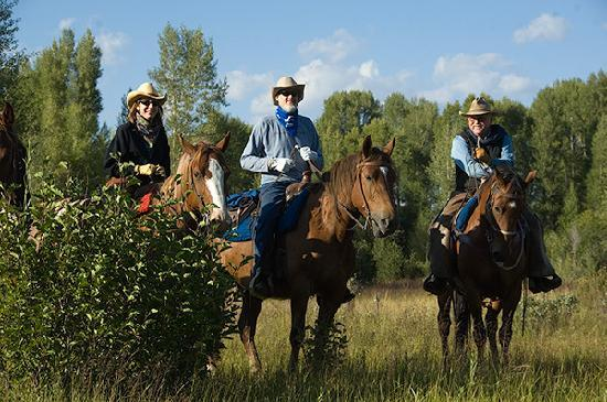 Triangle X Ranch: Pristine horseback riding and a large variety of riding terrain