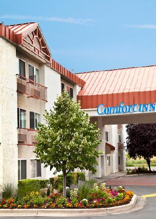Comfort Inn Salt Lake City / Layton: Hotel Entry