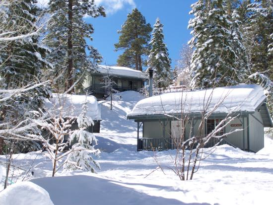 Pine Knot Guest Ranch in winter
