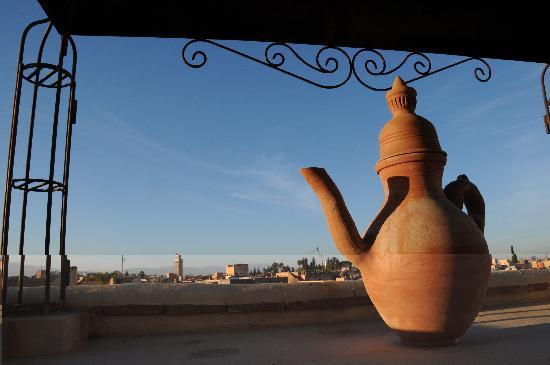Riad Kenzo : dalla terrazza
