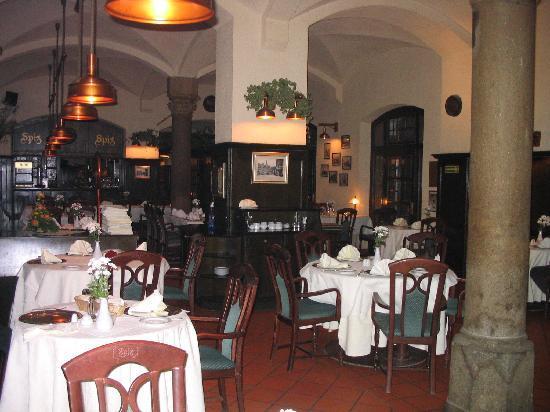 Restaurant Spiz, Gastraum