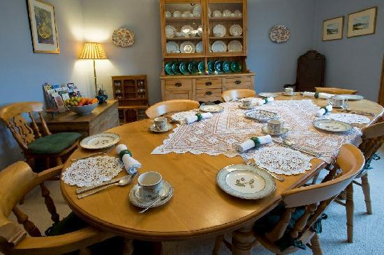Wraxall, UK: Guest's Dining Room