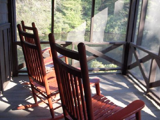 High Hampton Inn & Country Club: Our Private Screened Porch