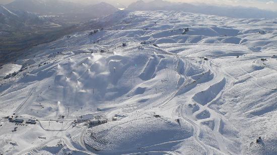 Snow Making at Snow Park NZ
