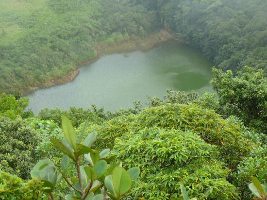 Mount Liamuiga: Crater Lake
