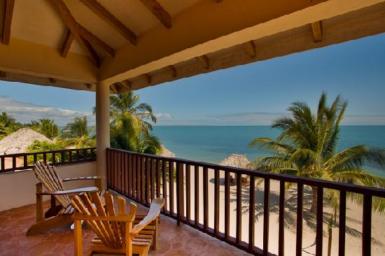 Belizean Dreams: View from one of the beachfront villas.