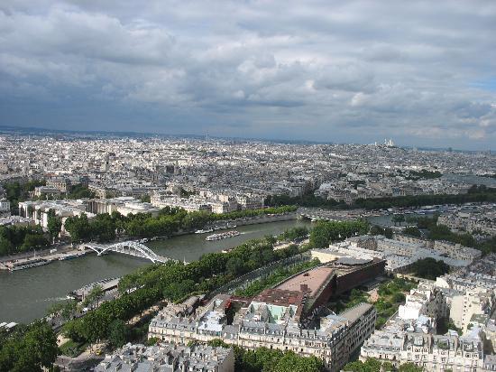 Paris, France: Vue de la Tour Effeil