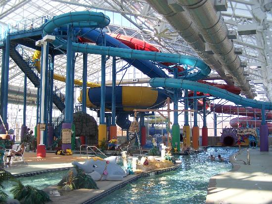 Big Splash Adventure Resort: Park view