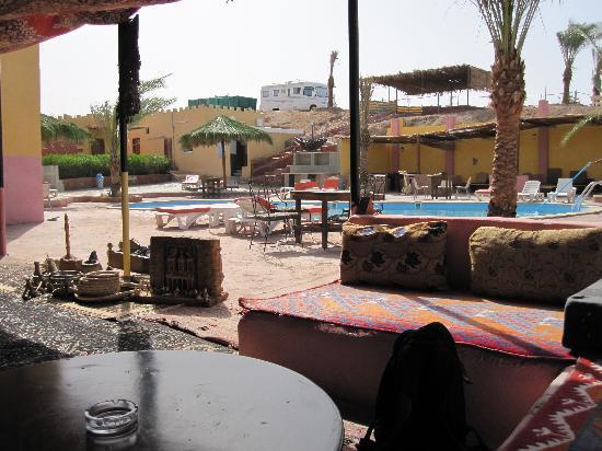 Bedouin Moon Village: bordo piscina