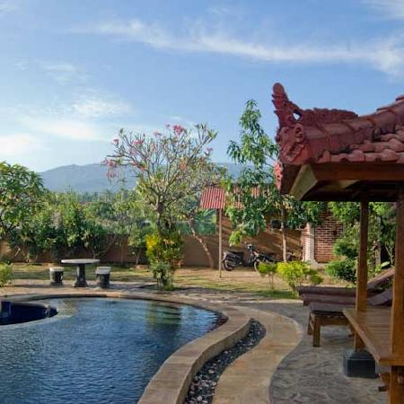 Mumbul Guesthouse: Our swimming pool