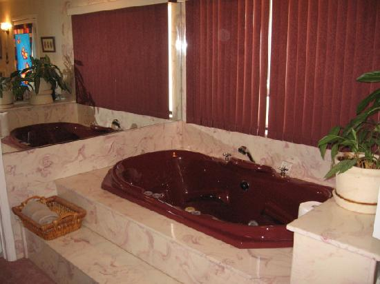 Willow Ridge Retreat: Jacuzzi tub