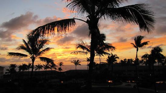 The Point at Poipu: Sunrise and another tough day ahead