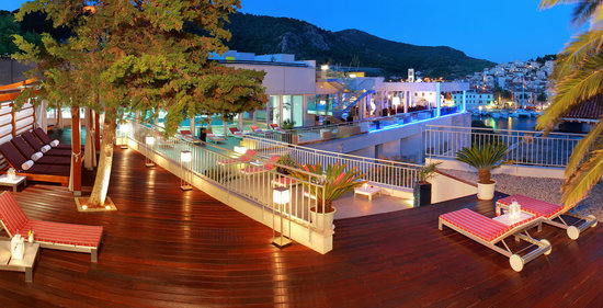 Adriana, hvar spa hotel: Adriana terraces