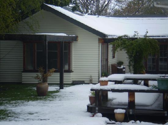 Harrogate Gardens Motel : stay cosy in the wintertime