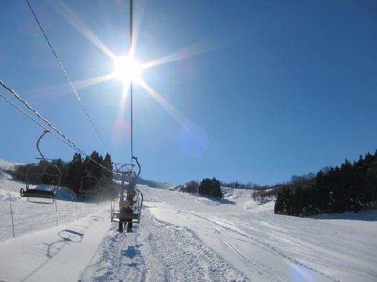 Itoigawa Seaside Ski Resort: 第2ゲレンデの様子