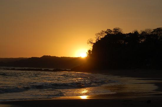 Tambor, Costa Rica: Sunset