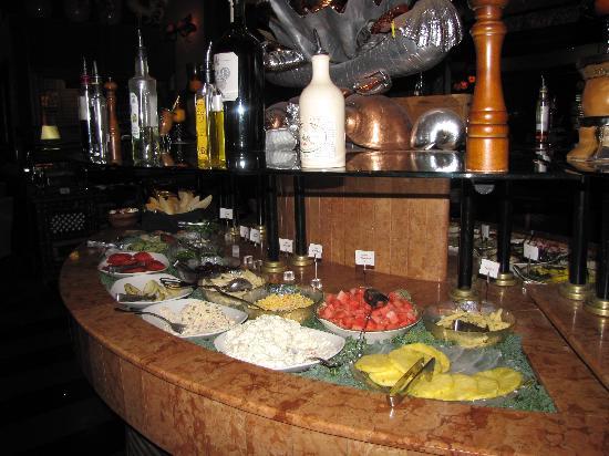 Ipanema Brazilian Steakhouse : Salad Bar