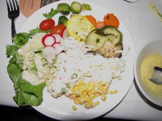 Ipanema Brazilian Steakhouse : My salad plate