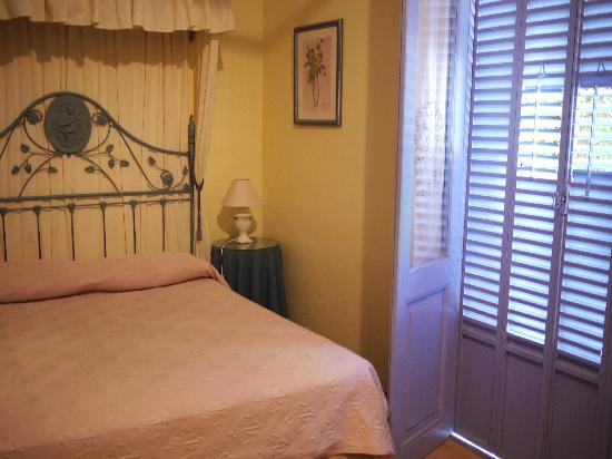 Posada del Angel: Our room.
