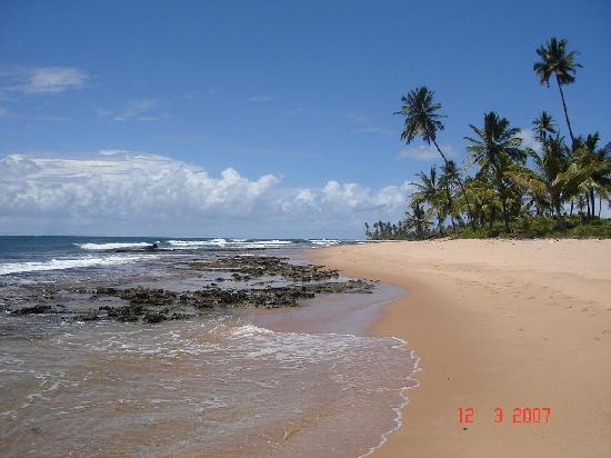 Bahia: playa taipus de fora