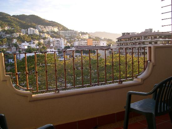 Eloisa Hotel: view from the balcony
