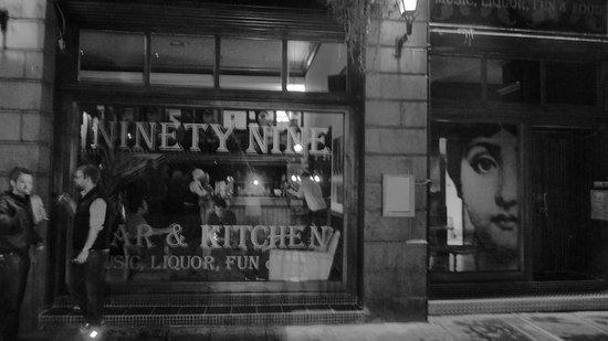 99 Bar Kitchen Back Wynd Aberdeen