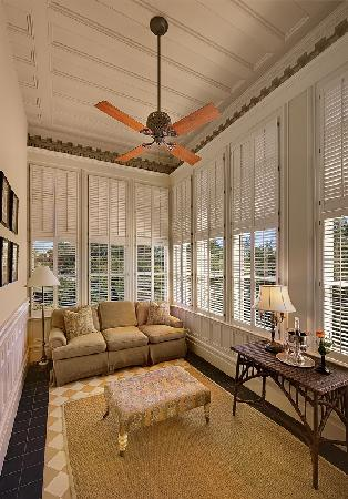 Wentworth Mansion : A Sun Porch, off a guest room