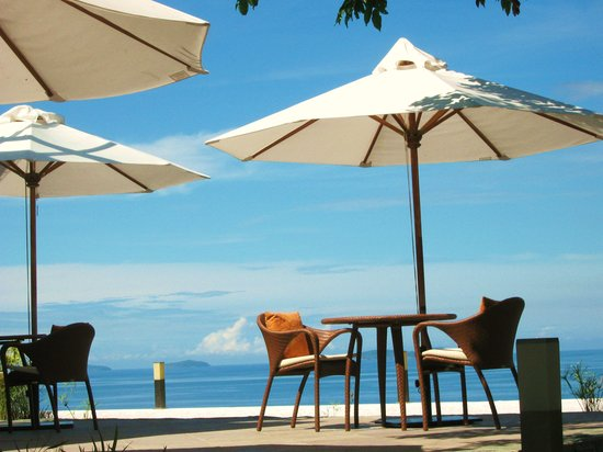 Bellarocca Island Resort and Spa: Al Fresco Dining
