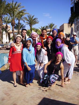 Club Med Marrakech La Palmeraie: defile oriental