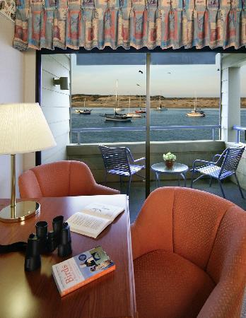 Embarcadero Inn: Spectacular views from your private balcony