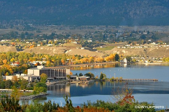 Penticton Lakeside Resort & Conference Centre: Hotel View