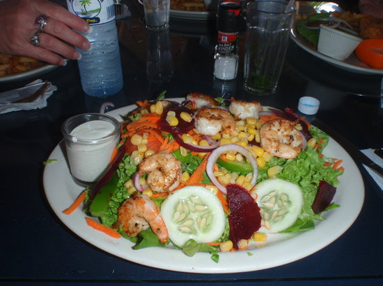 Blue Bahia Beach Grill: Shrimp salad
