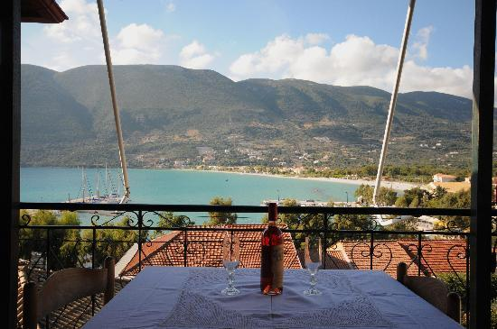 Vasiliki Blue: View from the balconies