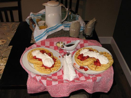 Blackberry Lane Bed and Breakfast: Choose Your Breakfast
