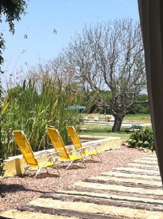 Casa Los Jazmines: back deck towards pool