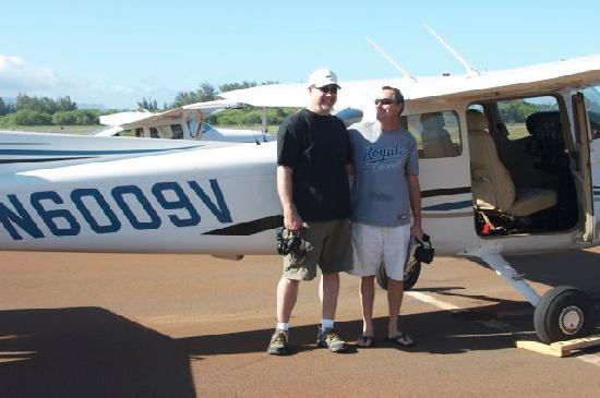 Paia, Hawaï: After a succesful (no bounce!) landing