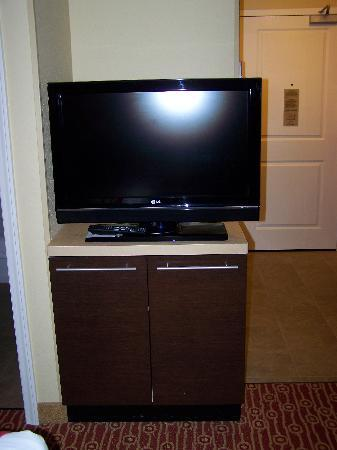TownePlace Suites Pensacola: Flat screen TV on swivel base - room #423